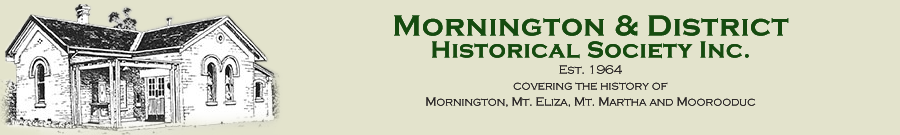 Mornington & District Historical Society