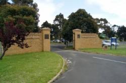 Camp gates made 1956