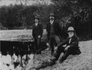 Fishing at Balcombe Creek